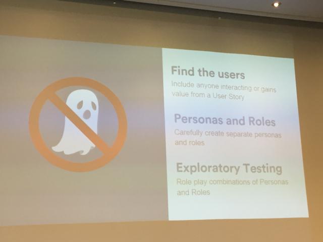 Alan Parkinson's Ghostbusting User Stories